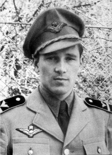 György Michna (19/12/1921 – 25/08/2012), WWII Hungarian Ace with 6 victories.