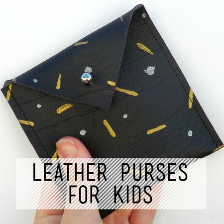 Leather Purses for Kids Taught by Charlotte Rigby Are you looking for something different to do after school? Take some time to slow down and make time to ...