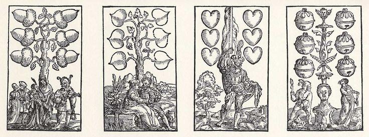 Artist: Flötner, Peter, Title: »Kartenspiel«, Sechser, Date: ca. 1535
