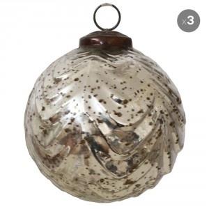 Safade's mercury glass balls, vintage inspired