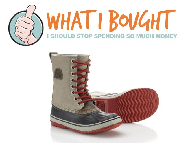 You're Welcome - [WHAT I BOUGHT] Sorel 1964 CVSBoot