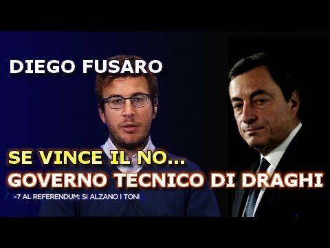 Fusaro: se vince il No, arriverà il Governo Tecnico di Mario Draghi [Ref...