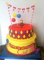 Curious George cake - sweetthingsbywendy.ca