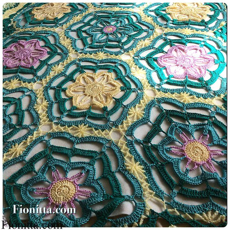 Lotus blanket | | Fionitta crochet