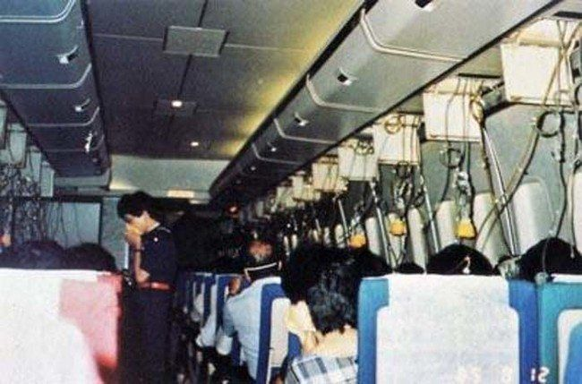 This photograph was recovered from the site where this plane crashed, killing all 509 people onboard.