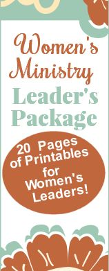 women's ministry ideas and devotionals