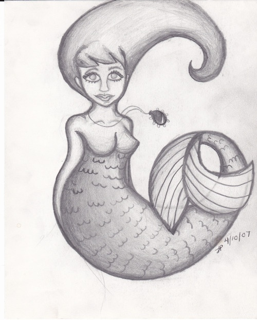Mermaid 1: Drawingsdoodlesfunnies, Mermaids, Posts