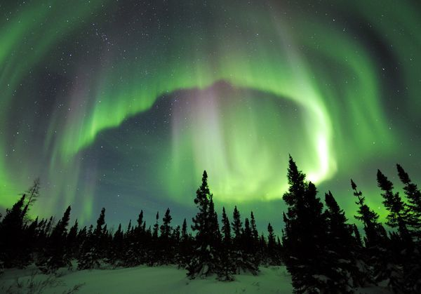 Aurora Borealis...would love to see this again some day.