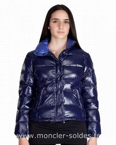 Blouson snow femme bleu