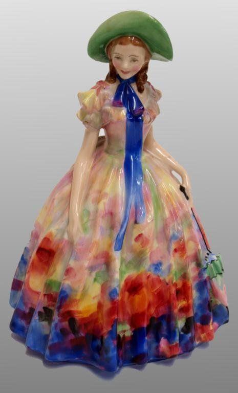 "Royal Doulton porcelain figure, ""Easter Day"""
