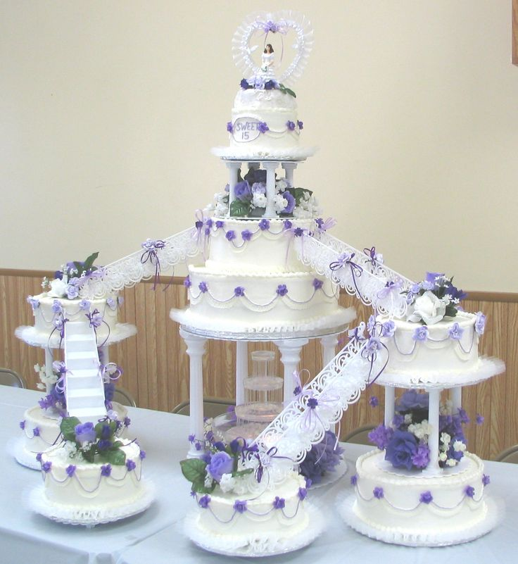 wedding cake creations gallery 1 | Quinceanera cakes