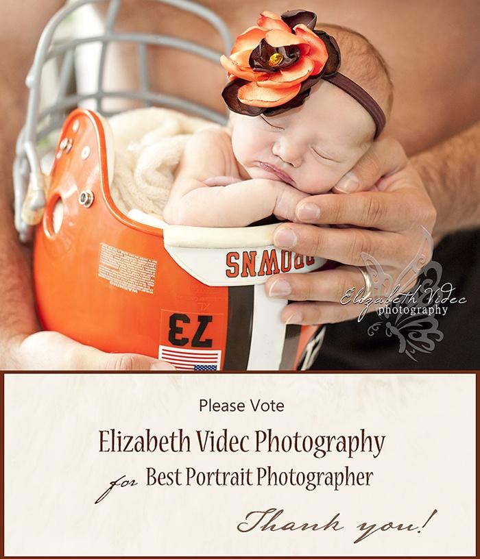 Elizabeth Videc Photography: Please help us win Best Portrait Photographer 2013 Cleveland Browns Football     VOTE: http://cleveland.cityvoter.com/elizabeth-videc-photography/biz/657416