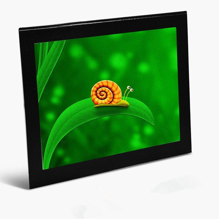 Nevera marco de fotos marco de Marco de Fotos Magnético Collage Para Refrigerador-con Capacidad para 4-4x6 pulgadas Fotos puede también ser pizarra