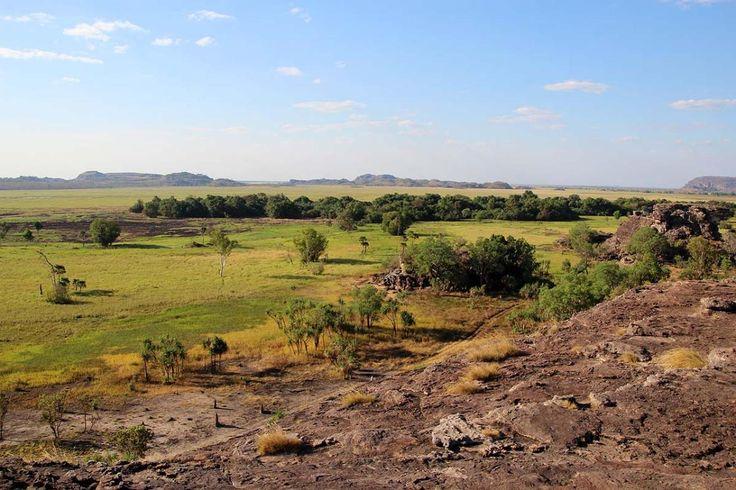 Great views from the Lookout near the Ubirr Rock Art Site Kakadu Np, NT. Now available on RvTrips. More photos at: www.rvtrips.com.au/nt/ubirr/ubirr-rock-art-site/