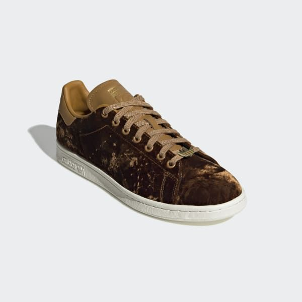 Men's Stan Smith Velvet Shoes with Gold Lace Jewels   adidas US ...
