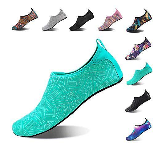 Mens Water Shoes Barefoot Aqua Socks Beach Quick-Dry Surf Swim Water Sport