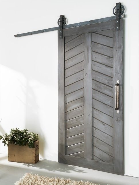 We can fully customize any of our rustic barn doors but we get a lot of people who call in wondering how they can order a door that looks just like this picture on our website. I've gotta say, they aren't wrong. This is dang good lookin' door!