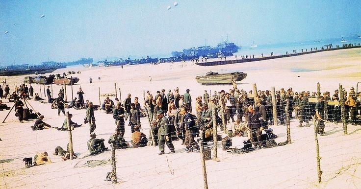 Omaha Beach, 10 june 1944