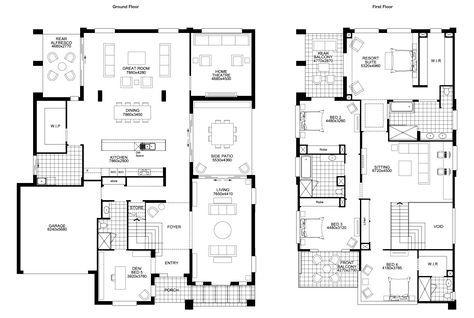 Floor Plan Friday: BIG double storey with 5 bedrooms