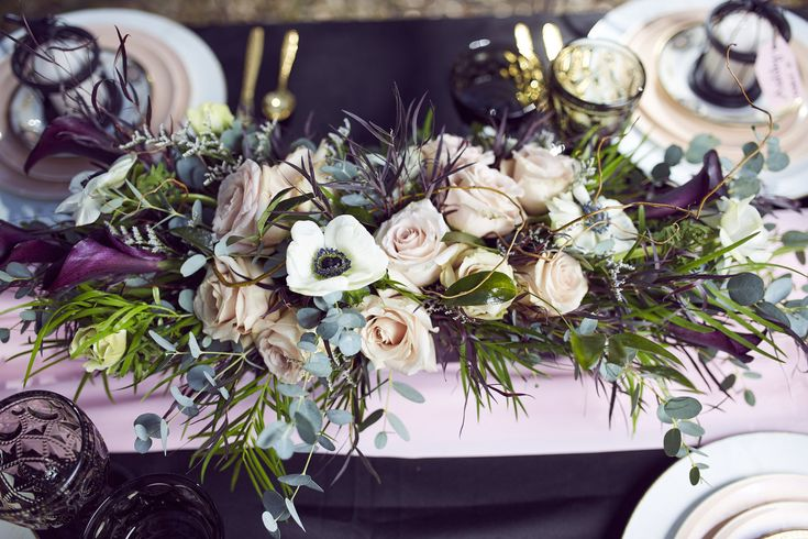 A Black, Blush   Gold Styled Garden Wedding -- Marcus Anthony Photography -- Wedding Blog-The Overwhelmed Bride