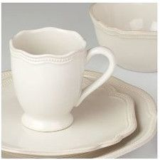 French Perle Bead 4 Piece Place Setting