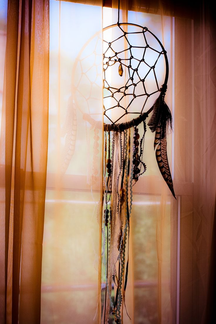 I want to make a dreamcatcher that looks just like this!