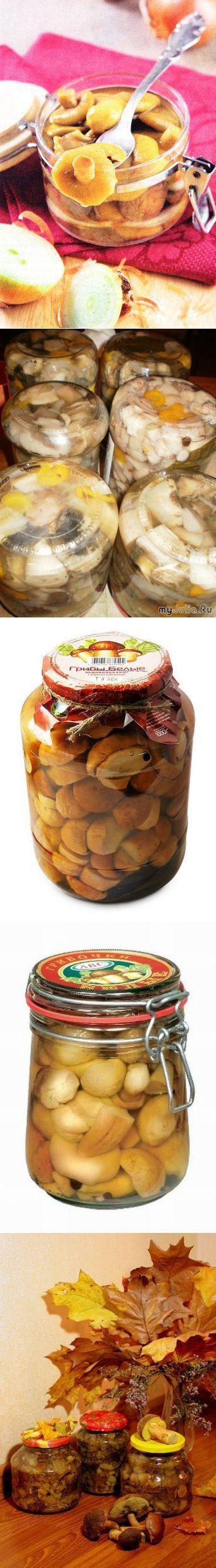 Kolekcja Przepisy grzyby marynowane: top - 5 najlepszych receptur