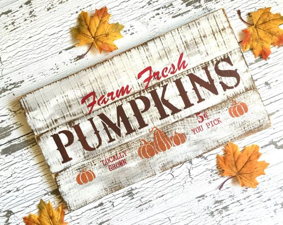 Fall Pallet Sign  Pumpkin Orchard Pallet Sign Love those fall colors!!  by AmberLaneFrames