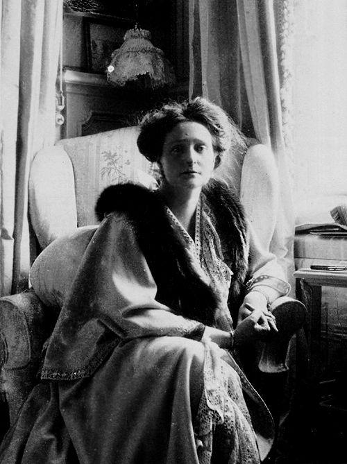 Empress Alexandra Feodorovna (1872-1918) Hesse, Germany, wife of Tsar Nicholas II Romanov (1868-1918) Russia.