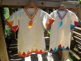 Anita's dagboek: Indianen verkleed kleding