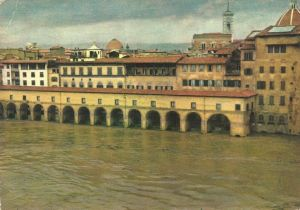 Corridoio Vasariano - Alluvione 4 novembre 1966