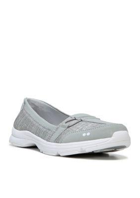Ryka Chrome SilverWhite Jenny Shoe