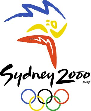 Sydney 2000 Olympic Logo - www.olympics.org #olympics #sydney #2000 Add Around The Rings on www.Twitter.com/AroundTheRings & www.Facebook.com/AroundTheRings for the latest info on the Olympics.