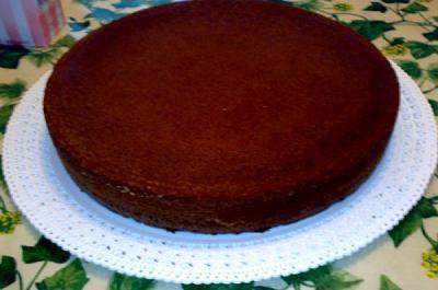 Torta base al cioccolato