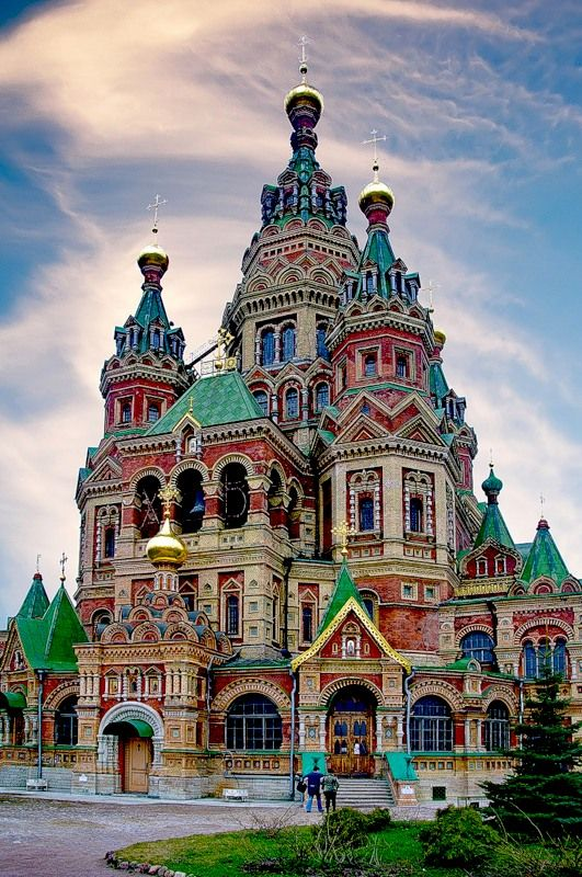 This has to be the most colorful Cathedral in the world -- Красивые Храмы, Соборы! Православие!