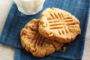 Easy Peanut Butter Cookies recipe - slight variation from other, but still flourless.  I guess there's research to do...oh darn!  ;)