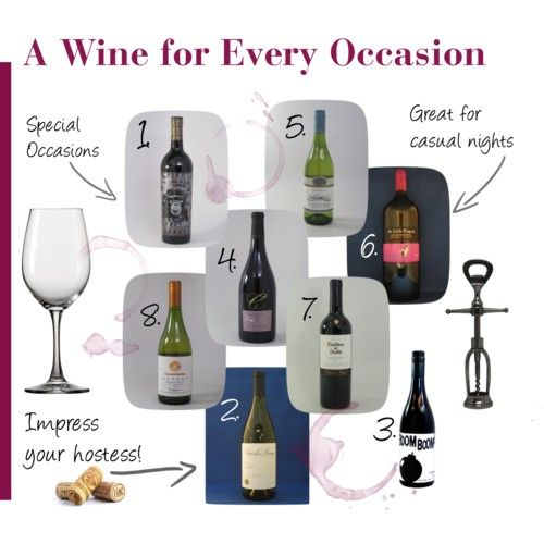 Amazing list of wines for every occasion