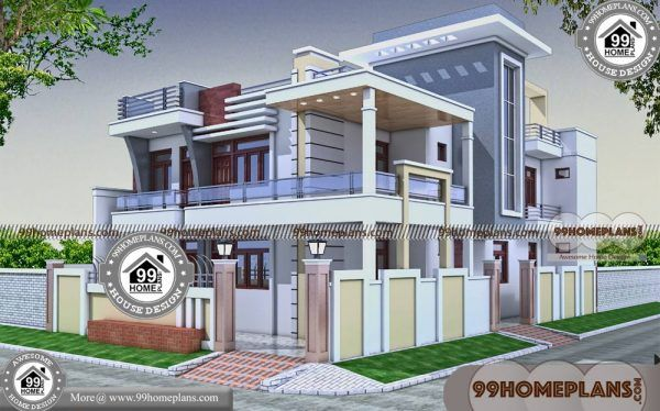 Corner Lot House Plans With Photos 60 Latest Two Storey House