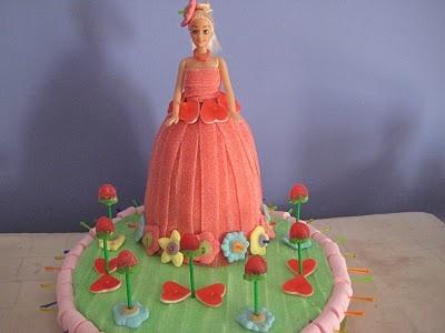 De mi Cocina: Tarta Barbie Chuches