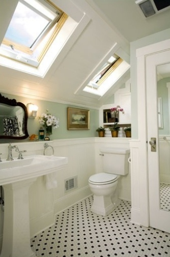 32 Best Images About Bathroom Sloping Ceiling On Pinterest