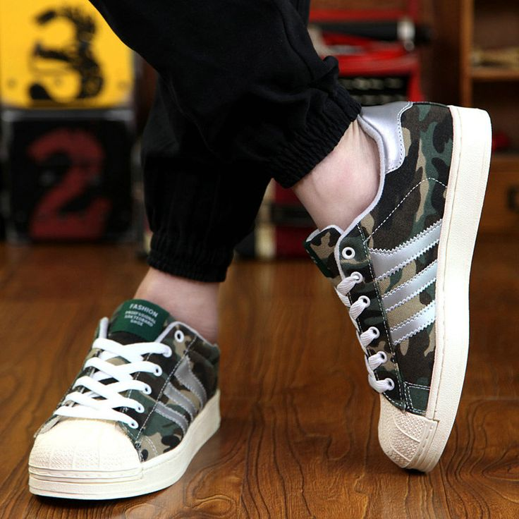 Size 39 to 44 Spring New Casual Sport Shoe Men Sneakers Popular Designer  Camouflage Denim Zapatos