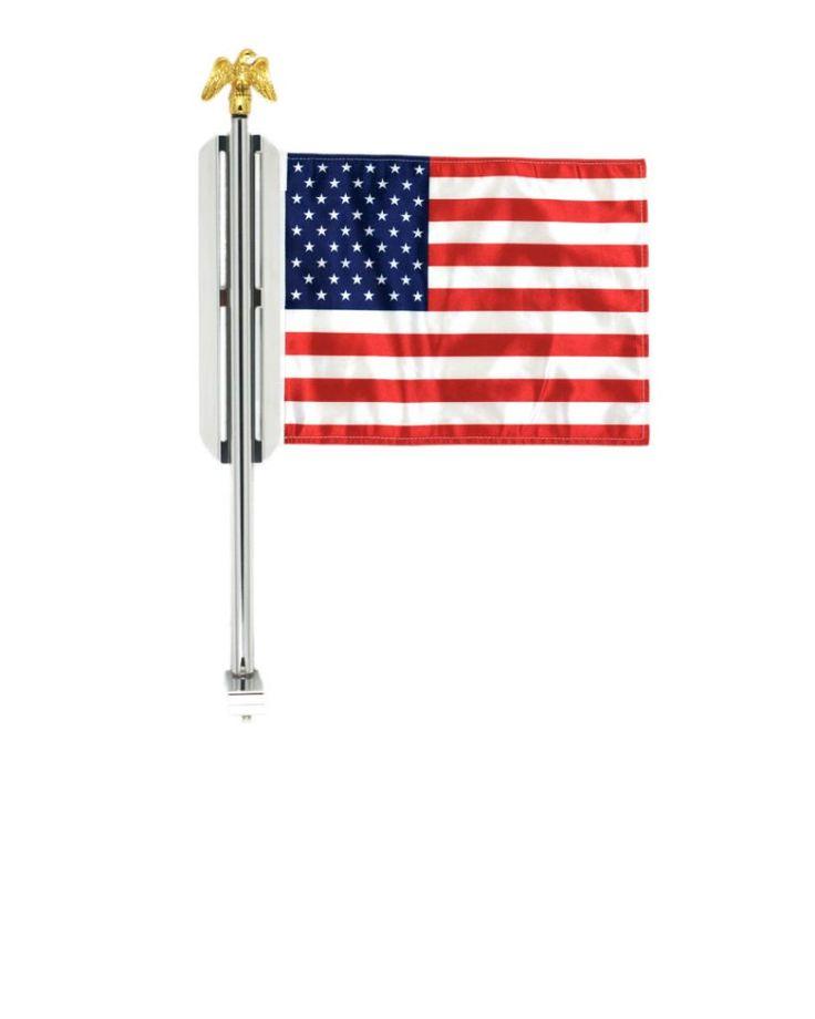 Motorcycle Flag Mount Wings 8×11 Flag