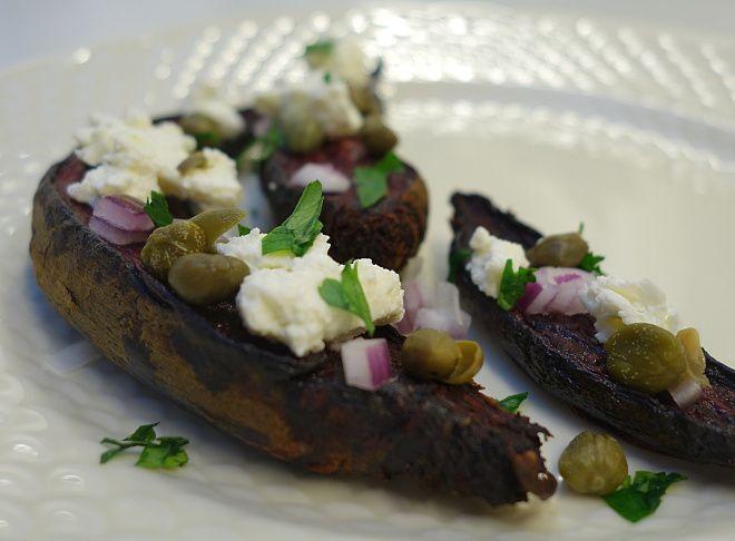 Kaleandtell - Vegetarisk gæstemad - bagte rødbeder