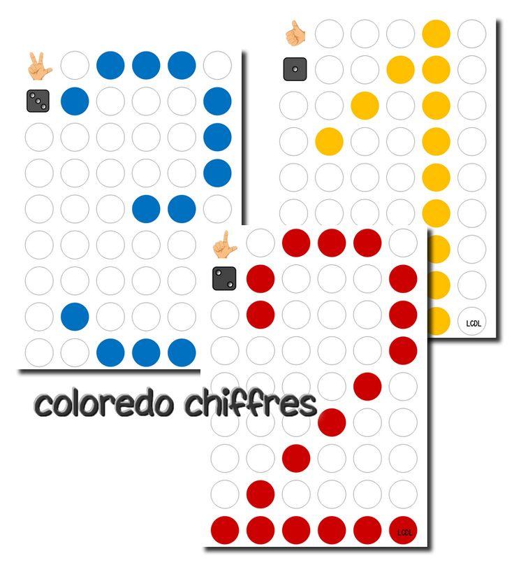 La maternelle de Laurène: Fiches Colorédo