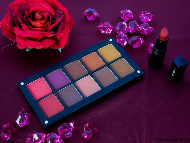 Babyredvamp Makeup: Inglot, What A Spice -  Review, Swatches & Makeup ...