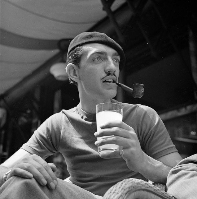 1948 + French guy + Pipe = Pretty Cool