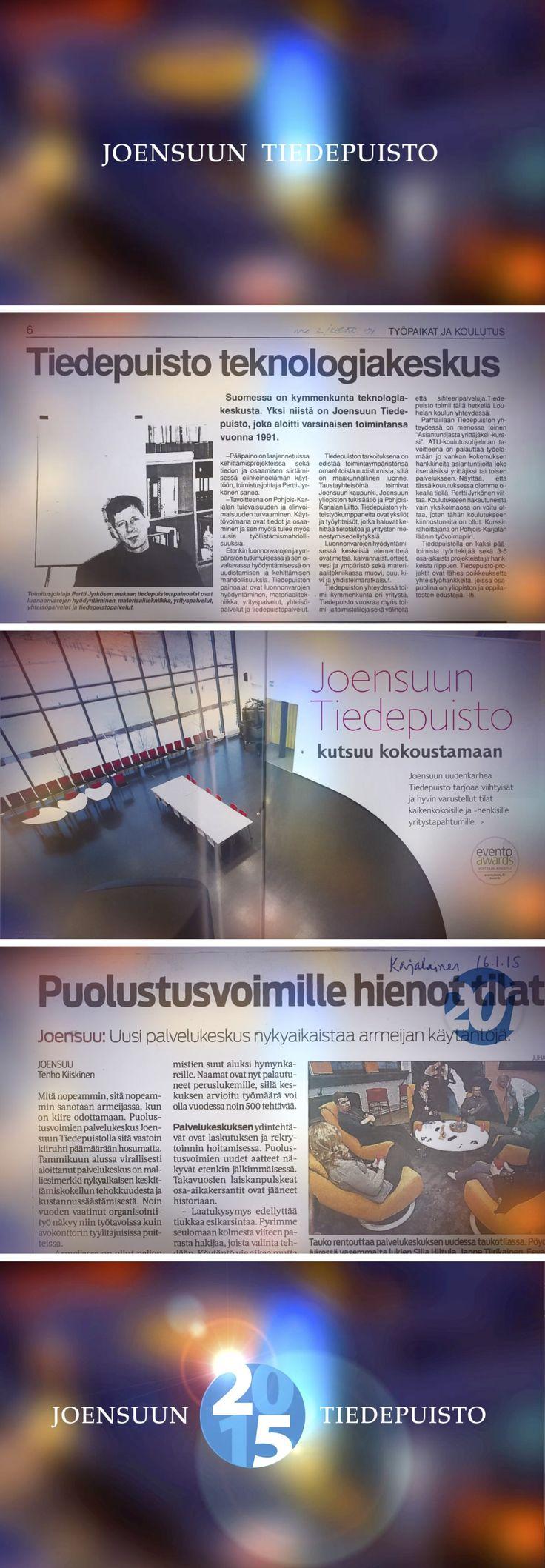 Joensuun Tiedepuisto 25 vuotta historiavideo - Joensuun Tiedepuisto oy