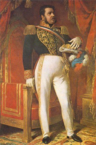 RETRATO DE DON MANUEL BULNES PRIETO, 1843 Óleo sobre tela Museo Historico Nacional, Santiago, Chile