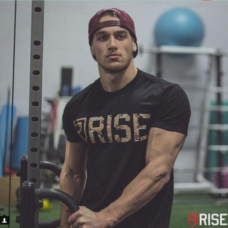RISE Mens Brand Crossfit T-Shirts Printed Bodybuilding Slim Cotton printing T Shirt Short Sleeve Muscle Men Tees fashion Tops