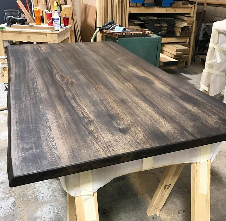 Some live edge elm going through the shop to soon become a beautiful dining table